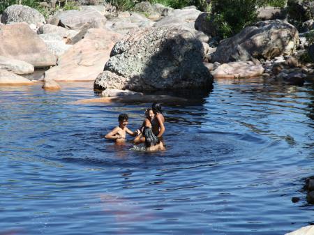 Naturschwimmbad in der Chapada Diamantina