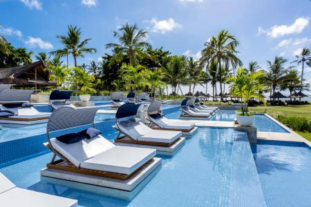 Liegen im Pool Praia do Forte Deluxe Hotel Tivoli Ecoresort