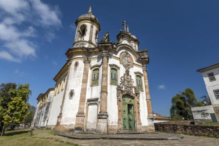 Brasilien, Minas Gerais: Kirchen in Ouro Preto
