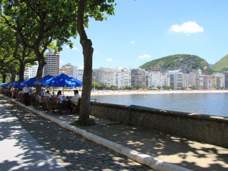 Copacabana Promenade in Rio de Janeiro