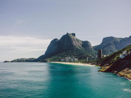 Traumhafte Bucht in Rio de Janeiro