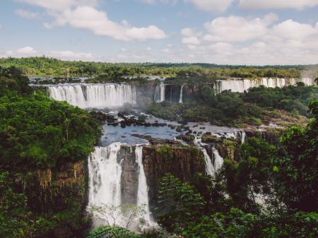 Die beeindruckenden Wasserfälle von Iguacu