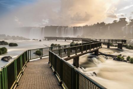 Wasserfall in Foz do Iguacu