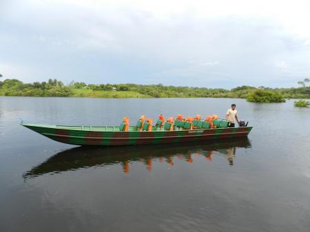 Bootsauflug im Amazonasgebiet von der Turtle Lodge aus
