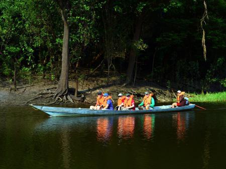 Bootsausflug auf dem Amazonas