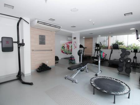 Hotel Go Inn Fitnessbereich