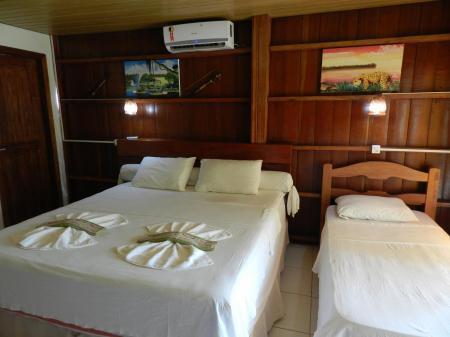 Zimmer der Turtle Lodge