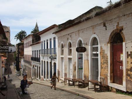 Kleine Gasse in der Altstadt von Sao Luis