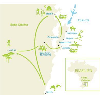 Map Suedbrasilien Multiaktiv