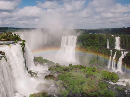 Die Wasserfälle von Foz do Iguacu