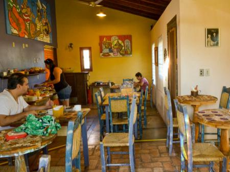Pousada Vila Tamarindo Eco Lodge Frühstücksraum
