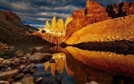Entdecken Sie die Flüsse des Torres del Paine Nationalpark auf einer Kayaktour