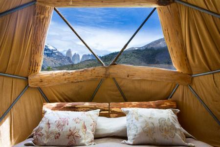 Auf Ihrer Patagonien Rundreise in Chile übernachten Sie im EcoCamp Patagonia