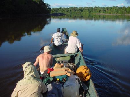 Unternehmen Sie mit uns einen Ausflug auf dem Fluss Caura in Venezuela