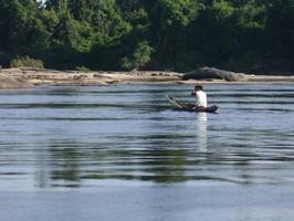Rio Caura Flussbett