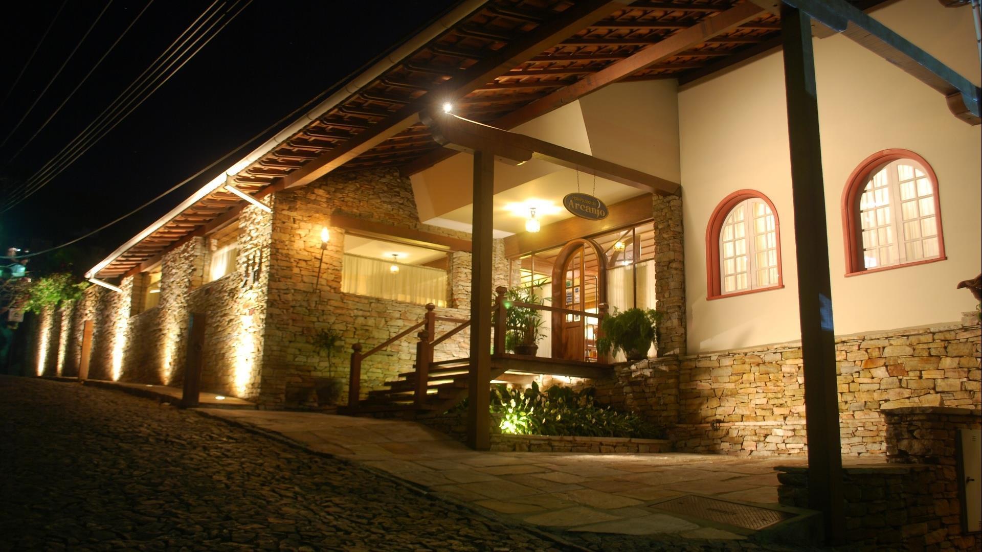 Brasilien Ouro Preto: Landestypische Unterkunft - Pousada do Arcanjo