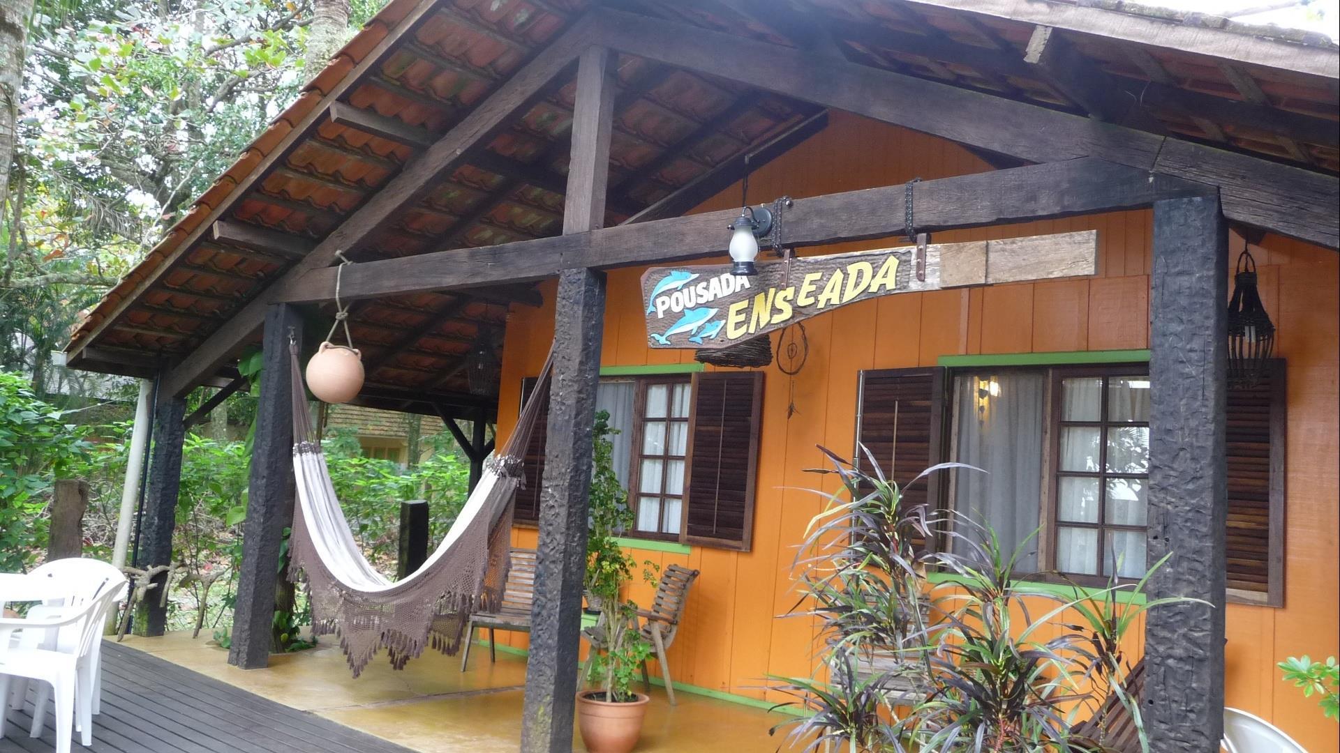 Brasilien Ilha do Mel: Landestypische Unterkunft - Pousada Enseada das Conchas