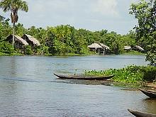 Reisen Südamerika Venezuela Tour Flussfahrt