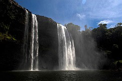 Reisen Urlaub Südamerika Venezuela Tour Nationalpark Canaima Wasserfall
