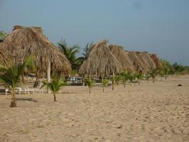 Strand an der Tacarigua Lagune bei einer Reise durch Venezuela.