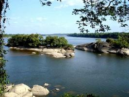 Der Rio Caura bei einer Reise durch Venezuela.