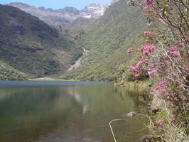 Die Laguna Negra in den Hochanden bei einer Reise durch Venezuela.