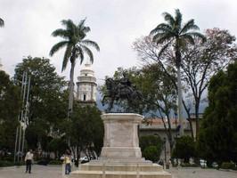 Merida City bei einer Reise durch Venezuela.