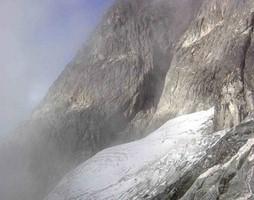 Pico Bolivar Felswand