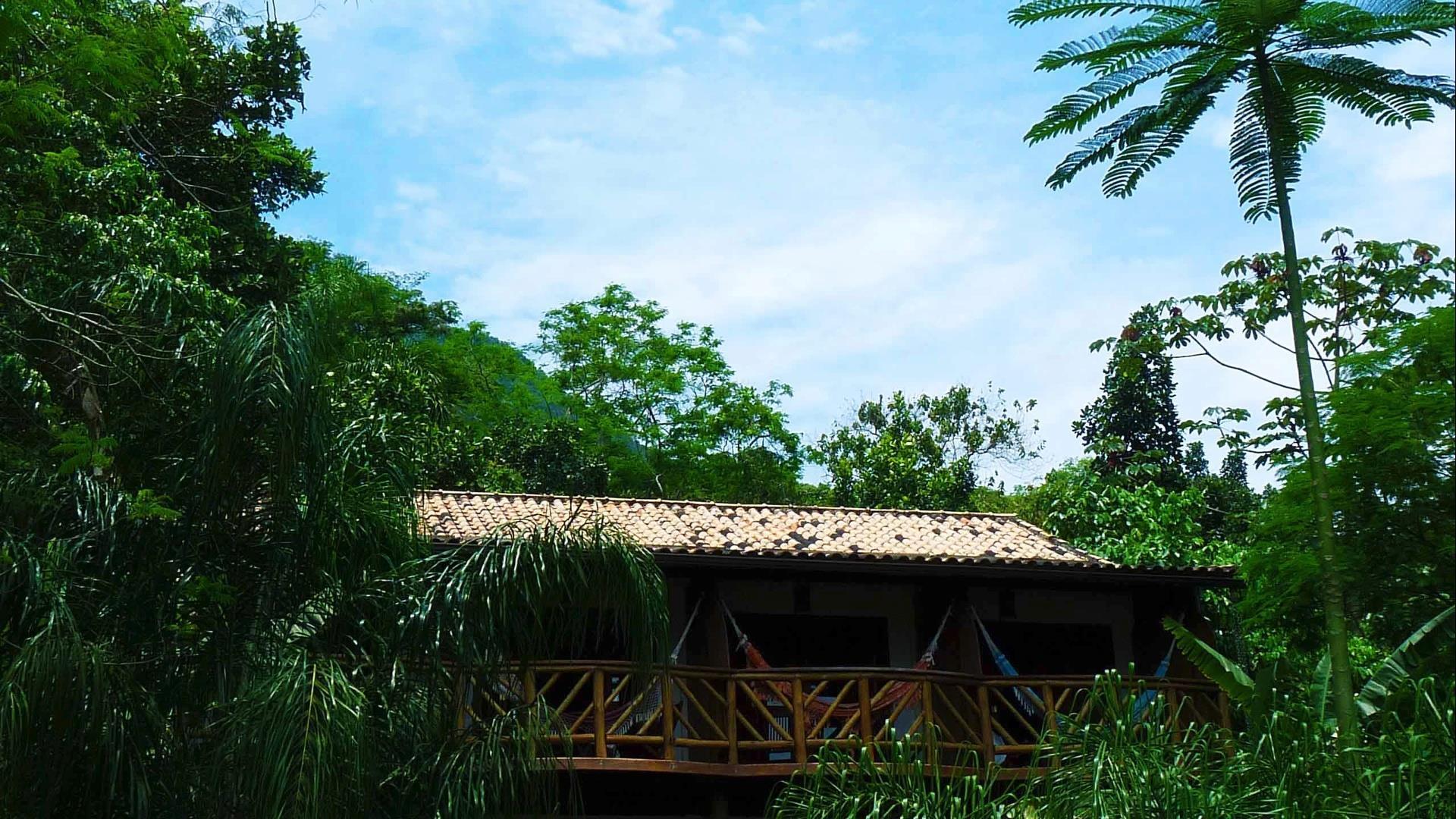 Brasilien Ilha Grande: Landestypische Unterkunft - Pousada Naturalia