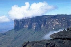 Der Tepui Roraima bei bei einer Reise durch Venezuela.
