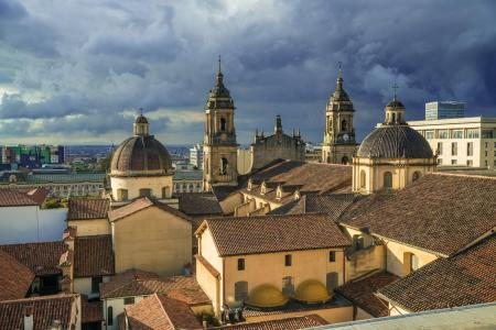 Das koloniale Stadtzentrum Bogotas auf einer Stadttour in Kolumbien entdecken