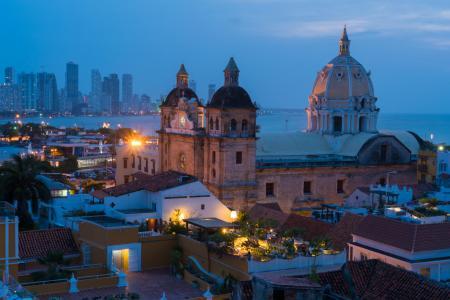 Entdecken Sie die Kolonialstadt Cartagena, welche an der Karibikküste gelegen ist