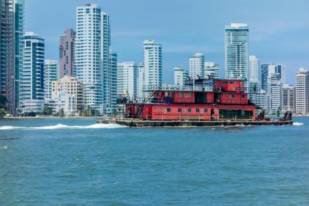 Die kontrastreiche Karibikstadt Cartagena auf einer Stadtführung in Kolumbien besichtigen