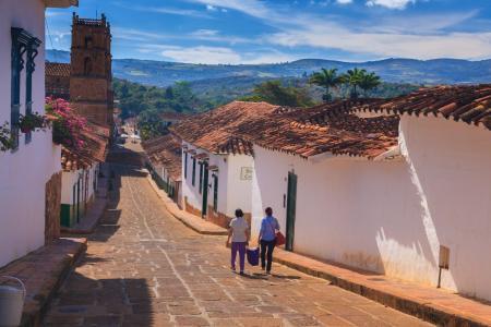 entdecken Sie das idyllische Dorf Barichara auf Ihrer Kolumbien Rundreise