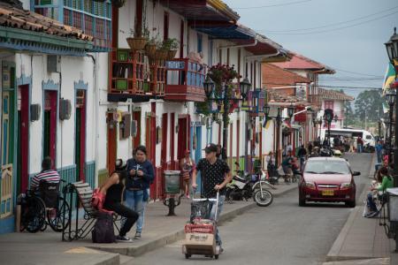 Die idyllischen Dörfer der Kaffeezone Kolumbiens auf einer Rundreise kennenlernen