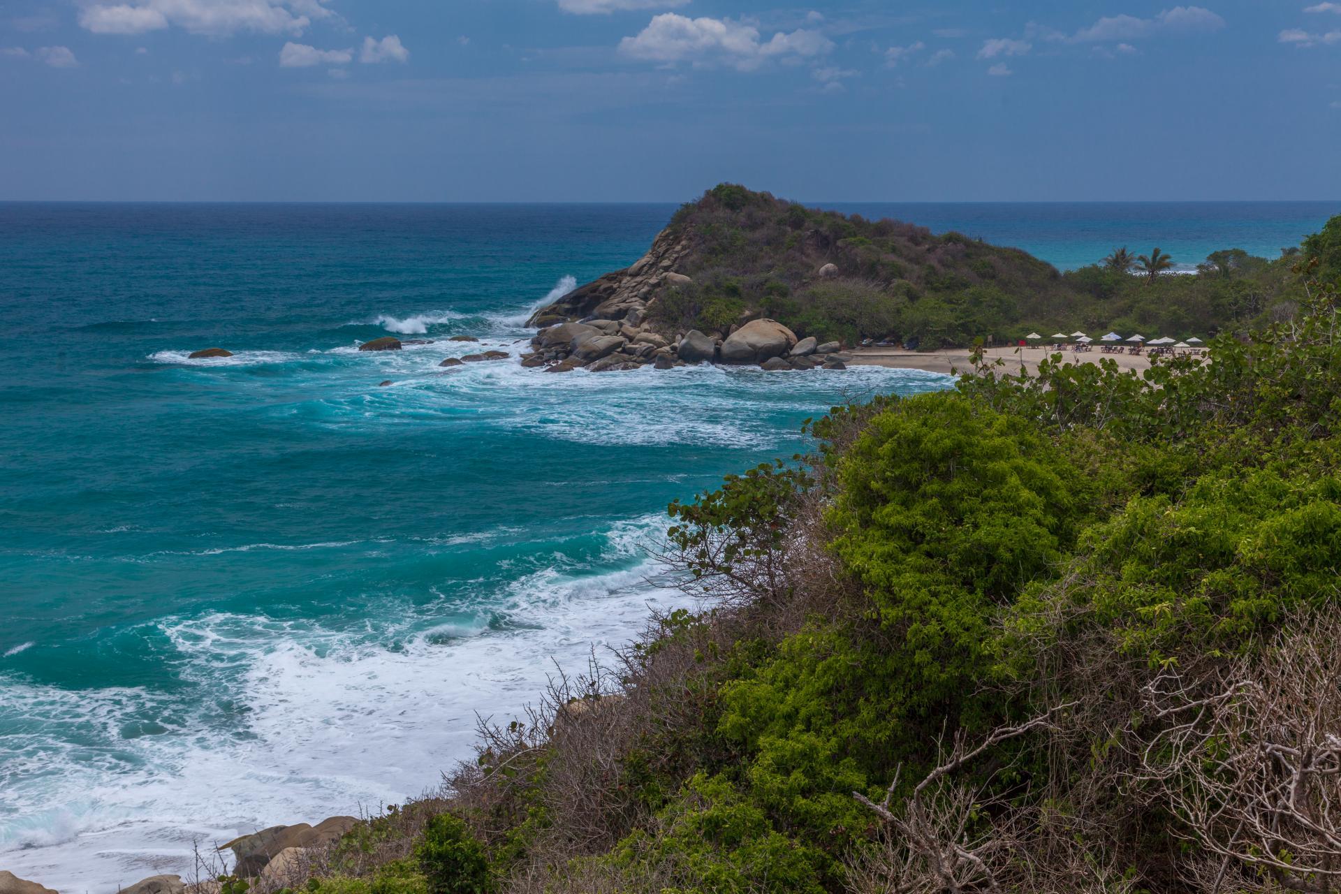 Eine Reise durch die Karibik in Kolumbien führt Sie zu den schönsten Stellen des Landes