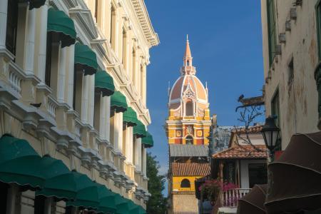 Das Koloniale Zentrum Cartagenas auf einer Stadtbesichtigung erleben