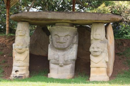Erleben Sie die präkolumbianischen Kulturen auf einer Rundreise in Kolumbien in San Agustin