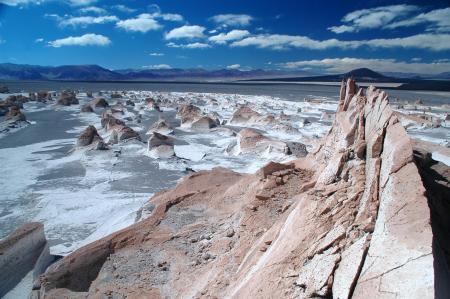 Unternehmen Sie eine Ausflug in das eindrucksvolle Campo de Piedras bei El Penon in Argentinien