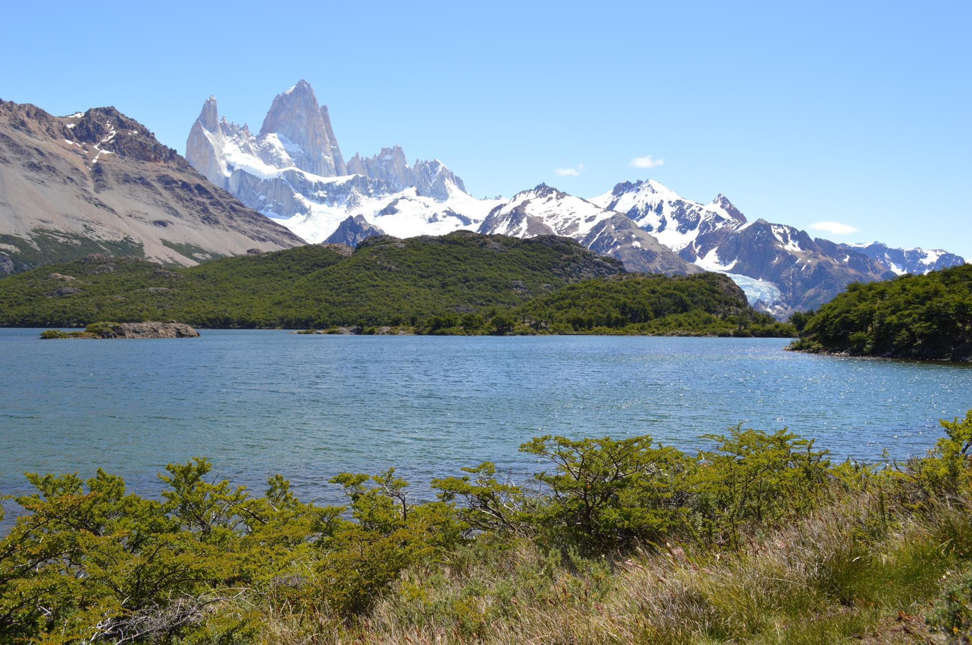 Entdecken Sie die schöne Lagune Capri auf einer Reise nach Patagonien in Argentinien