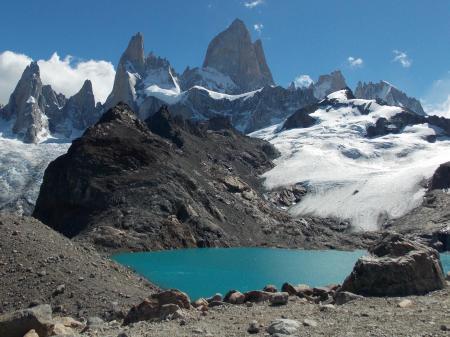 Erleben Sie den einmaligen Ausblick auf die Lagune de los Tres auf dieser Trekkingreise durch Patagonien