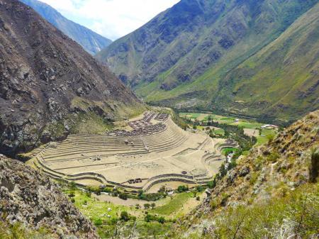 Begeben Sie sich auf den traditionellen Inka Trail und laufen Sie nach Machu Picchu
