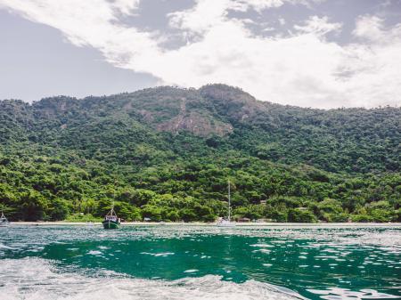 Unberührte Natur auf der Ilha Grande