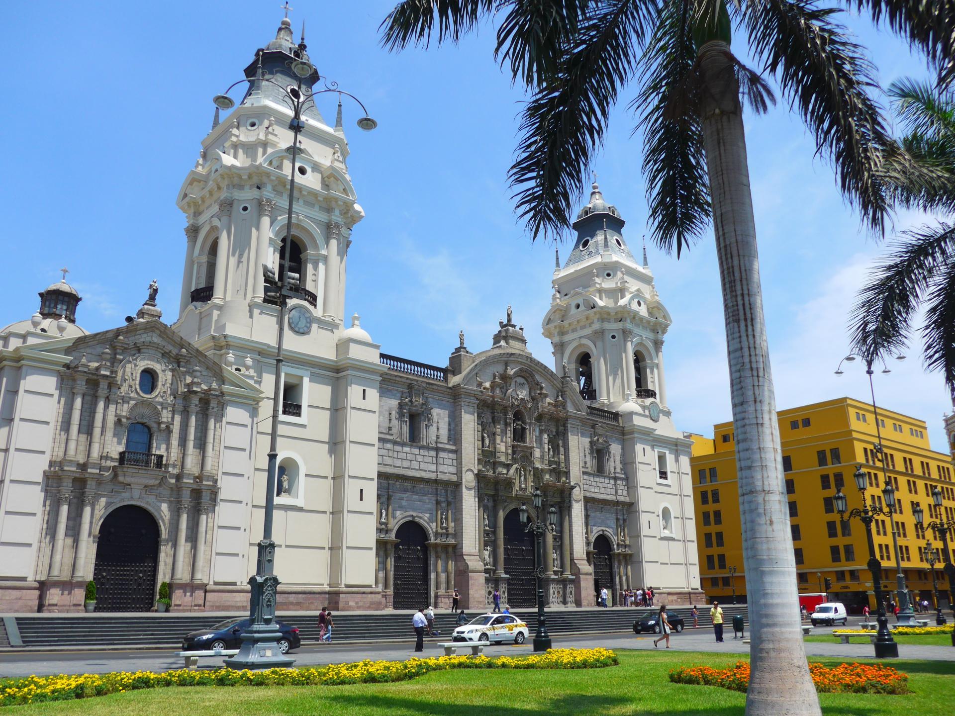 Erleben Sie die Hauptstadt Perus auf einer Stadtrundfahrt