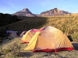 Reise Ecuador Trekking Camp Chimborazo