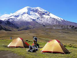 Reise Ecuador Trekking Chimborazo Camp
