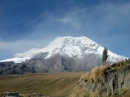 Reise Ecuador Trekking Chimborazo Vulkan