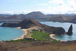 Die Landschaft auf Galapagos bei einer Reise durch Ecuador