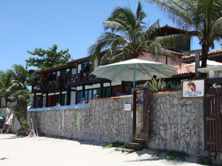 Hotel Chez Pitu Praia Außenansicht