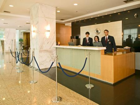 Hotel Mercure Brasilia Lider Rezeption